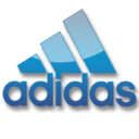 128x128px size png icon of Adidas Logo