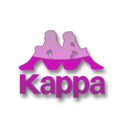 128x128px size png icon of Kappa violet