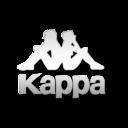 128x128px size png icon of Kappa white logo