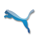 128x128px size png icon of Puma blue