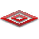 128x128px size png icon of Umbro red logo