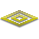 128x128px size png icon of Umbro yellow