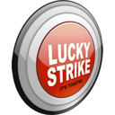 Lucky Strike Lights Gray Logo Icon