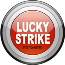 128x128px size png icon of Lucky Strike Lights Grey