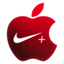 128x128px size png icon of Nike & Apple Sport