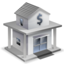 128x128px size png icon of Bank