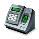 128x128px size png icon of Fingerprint reader