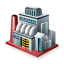 128x128px size png icon of Industry
