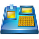 128x128px size png icon of electronic billing machine