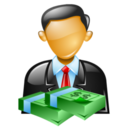 128x128px size png icon of personal loan