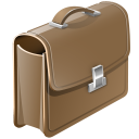 128x128px size png icon of Brief case