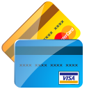 128x128px size png icon of Credit cards