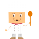 128x128px size png icon of chef