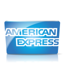 128x128px size png icon of American express