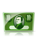 128x128px size png icon of Cash