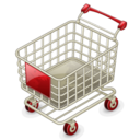 128x128px size png icon of Empty shopping cart