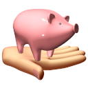 128x128px size png icon of Financial services