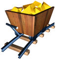 128x128px size png icon of Gold mine