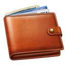 128x128px size png icon of money wallet