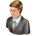 128x128px size png icon of Administrator