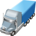 128x128px size png icon of Trailer