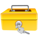 128x128px size png icon of Money Safe 2