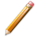 128x128px size png icon of Pencil