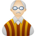 128x128px size png icon of Professor