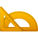 128x128px size png icon of Rulers