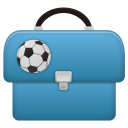 128x128px size png icon of Schoolbag boy