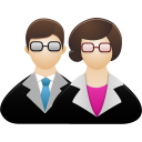 128x128px size png icon of Teachers
