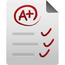 128x128px size png icon of Test paper