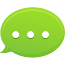 Bubble Text Message Icon
