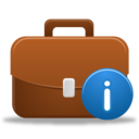 128x128px size png icon of Business info