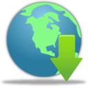 Globe Download Icon