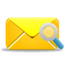 128x128px size png icon of Mail Search
