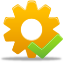 128x128px size png icon of Process Accept