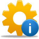 128x128px size png icon of Process Info