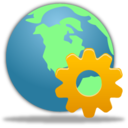 128x128px size png icon of Web management