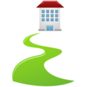 128x128px size png icon of Direct walkway