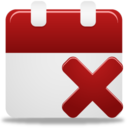 128x128px size png icon of Remove event