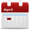 128x128px size png icon of Calendar selection day