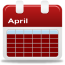 128x128px size png icon of Calendar selection month