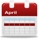 128x128px size png icon of Calendar selection week