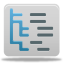 128x128px size png icon of Content tree