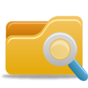 128x128px size png icon of File explorer