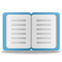 128x128px size png icon of Glossary