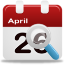 128x128px size png icon of Event search
