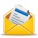128x128px size png icon of Message already read