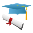 128x128px size png icon of Qualification history